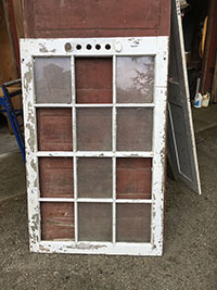 Antique Wood Interior and Exterior Doors and Window Sashes at Olde ...