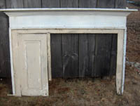 Salvaged Antique Fireplace Mantels at Olde New England Salvage Co.